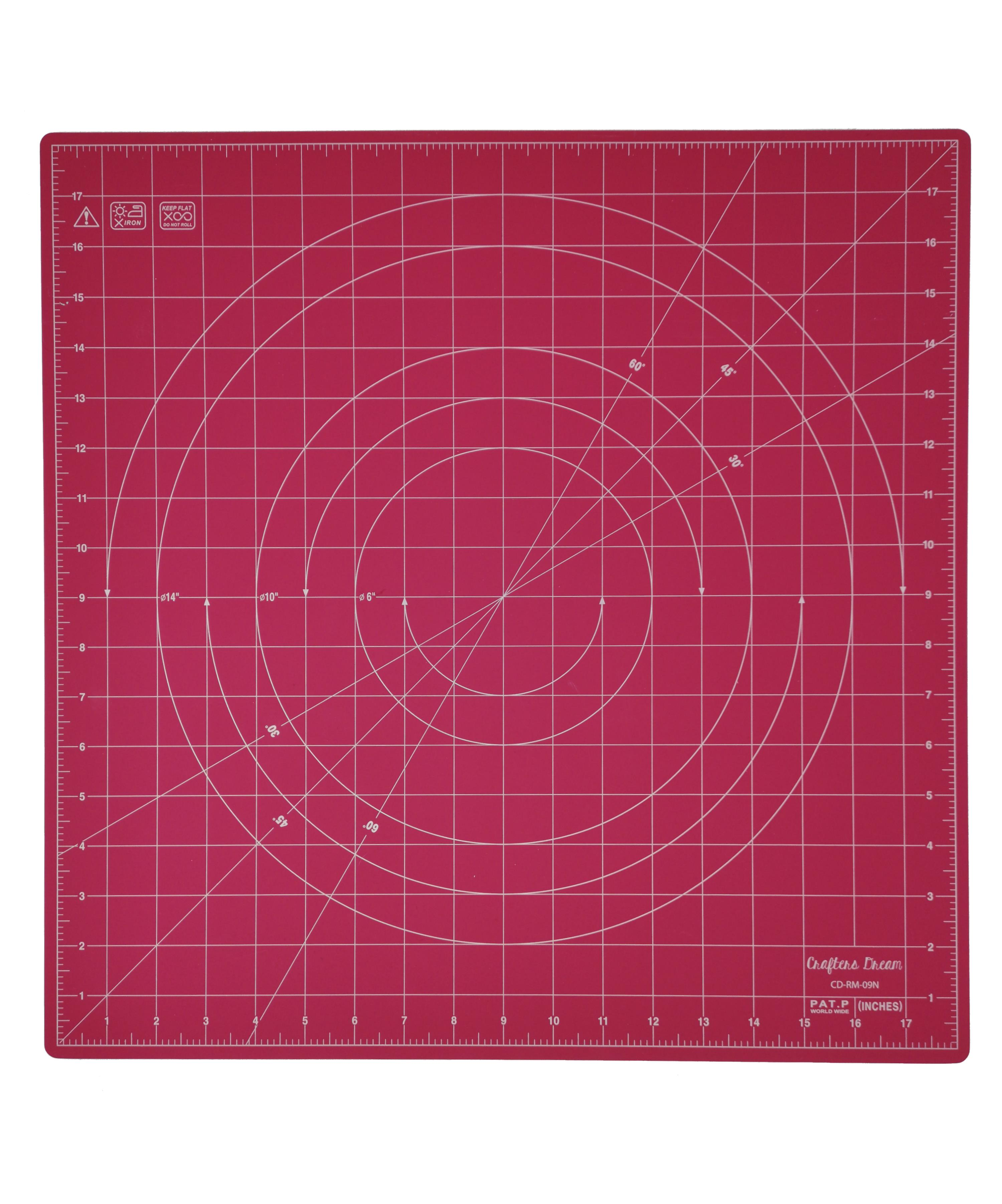 Crafters Dream New Rotating Cutting Mat Square 18
