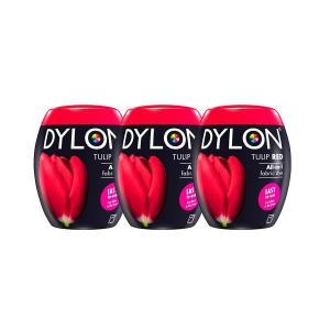DYLON Tulip Red Machine Dye Pod x 3