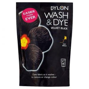 DYLON Velvet Black Wash & Dye 350g x 4