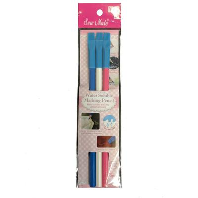 Sew Mate Water Soluble Marking Pencils - Blue, White, Pink