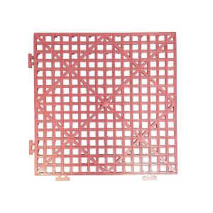 Quilted Bear MicroStitch Basting Grate with Interlocking Design - Magenta Red
