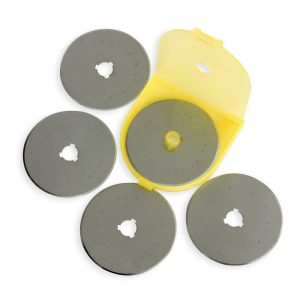 Olfa 60mm Rotary Cutter Replacement Blades Pack of 5