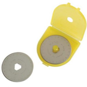 Olfa 45mm Rotary Cutter Replacement Blades Pack of 2