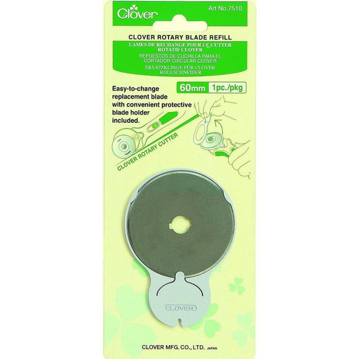 Clover Rotary Blades Refill Pack 60mm x 5