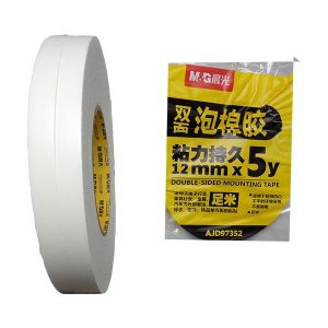 M&G DS Foam Tape 2 x 12MM Rolls - Unit Quantity 1