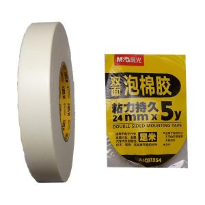 M&G DS 24MM Foam Tape - Unit Quantity 1