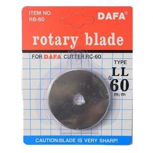Quilted Bear DAFA 60mm Rotary Cutter Spare Replacement Blade