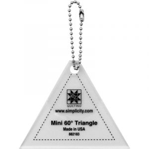 Ez Quilting Templates - Mini 60 Degree Triangle