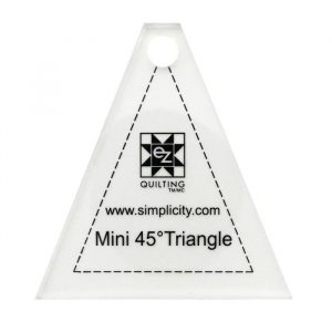 Ez Quilting Templates - Mini 45 Degree Triangle