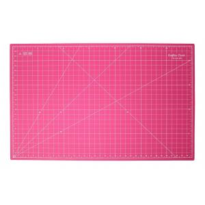 "Crafters Dream Cutting Mat 36"" x 24"" inches - Colour: Pink"