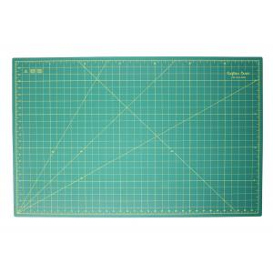 "Crafters Dream Cutting Mat 36"" x 24"" inches - Colour: Green"
