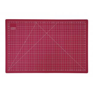 "Crafters Dream Cutting Mat 24"" x 18"" inches- Colour: Pink"