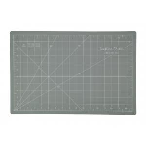 "Crafters Dream Cutting Mat 18"" x 12"" inches - Colour: Grey"