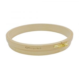 Nurge 180-4 Wooden Punch Embroidery Hoop 250mm/9.84″X36.5mm