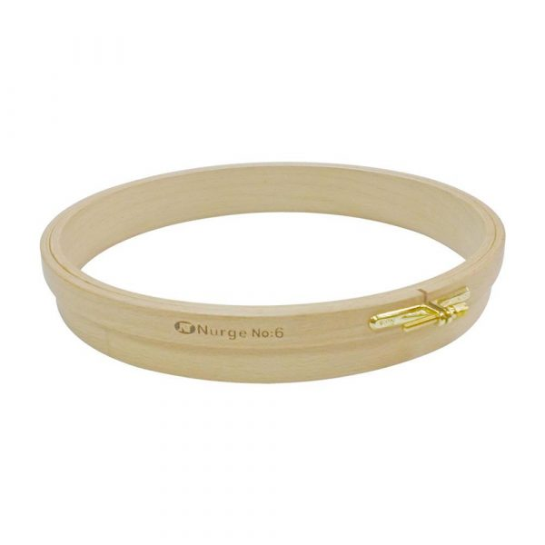 """Nurge 180-4 Wooden Punch Embroidery Hoop 250mm/9.84""""X36.5mm"""
