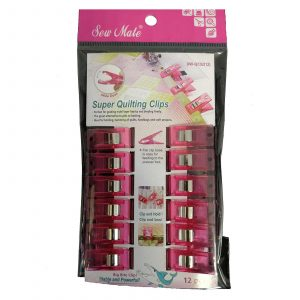 Sew Mate Wonder Quilting Clips - Holds Multiple Layers of Fabric