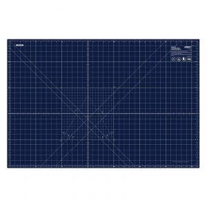 "Olfa 36"" x 24"" Self-Healing Cutting Mat Splash Navy"