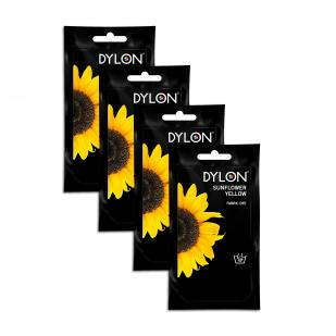 DYLON Sunflower Yellow Hand Dye Sachet x 4