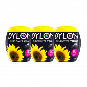DYLON Sunflower Yellow Machine Dye Pod x 3