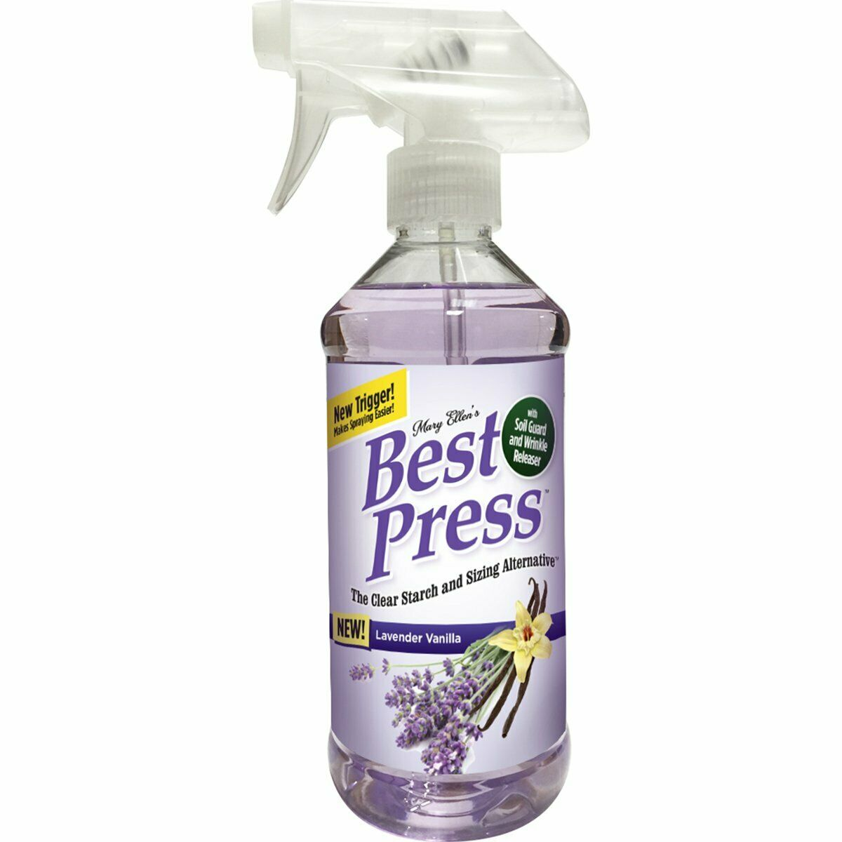 Mary Ellen's Best Press Ironing Spray 16 oz Lavender Vanilla